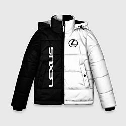 Куртка зимняя для мальчика Lexus: Black & White цвета 3D-черный — фото 1