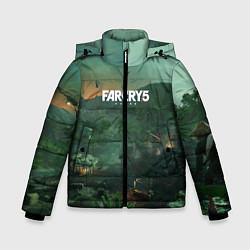 Куртка зимняя для мальчика Far Cry 5: Vietnam цвета 3D-черный — фото 1