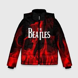 Куртка зимняя для мальчика The Beatles: Red Flame цвета 3D-черный — фото 1