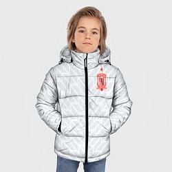 Куртка зимняя для мальчика Сборная Испании: Гостевая ЧМ-2018 цвета 3D-черный — фото 2