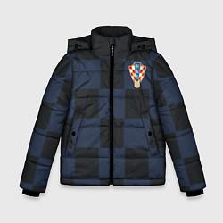 Куртка зимняя для мальчика Сборная Хорватии: Гостевая ЧМ-2018 цвета 3D-черный — фото 1