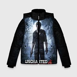 Куртка зимняя для мальчика Uncharted 4: A Thief's End цвета 3D-черный — фото 1