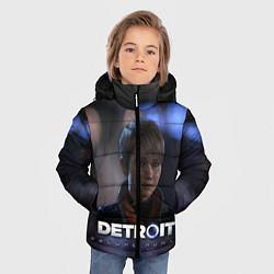Куртка зимняя для мальчика Detroit: Kara цвета 3D-черный — фото 2