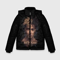 Куртка зимняя для мальчика Jahseh Onfroy цвета 3D-черный — фото 1