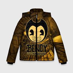 Куртка зимняя для мальчика Black Bendy цвета 3D-черный — фото 1
