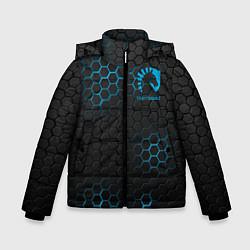 Куртка зимняя для мальчика Team Liquid: Carbon Style цвета 3D-черный — фото 1