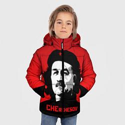 Куртка зимняя для мальчика Che Rchesov цвета 3D-черный — фото 2