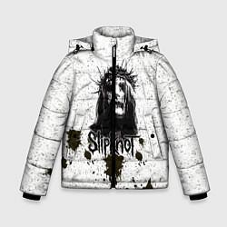 Куртка зимняя для мальчика Slipknot Demon цвета 3D-черный — фото 1