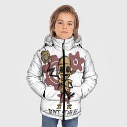 Куртка зимняя для мальчика Don't Starve: WX-78 цвета 3D-черный — фото 2