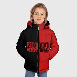 Куртка зимняя для мальчика RDD 2: Black & Red цвета 3D-черный — фото 2