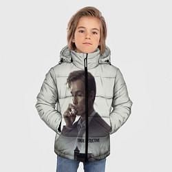 Куртка зимняя для мальчика True Detective: Autumn цвета 3D-черный — фото 2