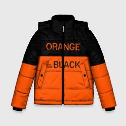 Куртка зимняя для мальчика Orange Is the New Black цвета 3D-черный — фото 1