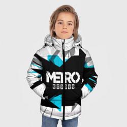 Детская зимняя куртка для мальчика с принтом Metro: Exodus Sky, цвет: 3D-черный, артикул: 10161591106063 — фото 2