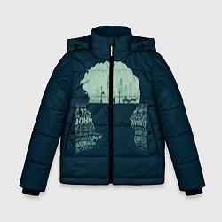 Куртка зимняя для мальчика Sherlock цвета 3D-черный — фото 1