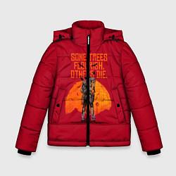 Куртка зимняя для мальчика Some trees flourish цвета 3D-черный — фото 1