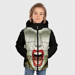 Куртка зимняя для мальчика AHS: Scream цвета 3D-черный — фото 2