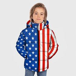 Куртка зимняя для мальчика American Patriot цвета 3D-черный — фото 2