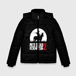 Куртка зимняя для мальчика RDR 2: Moonlight цвета 3D-черный — фото 1