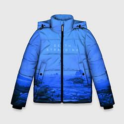 Куртка зимняя для мальчика Death Stranding: Blue Heaven цвета 3D-черный — фото 1