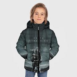 Куртка зимняя для мальчика Death Stranding: Dark Space цвета 3D-черный — фото 2