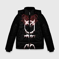 Куртка зимняя для мальчика Ghostemane sign цвета 3D-черный — фото 1