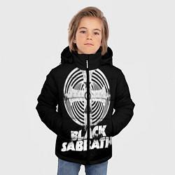Детская зимняя куртка для мальчика с принтом Black Sabbath: Faith, цвет: 3D-черный, артикул: 10170572106063 — фото 2