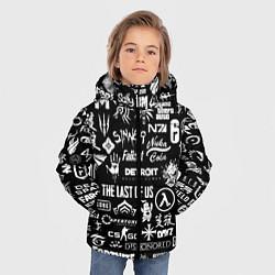 Куртка зимняя для мальчика Истинный геймер цвета 3D-черный — фото 2