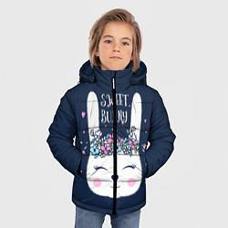 Детская зимняя куртка для мальчика с принтом Sweet Bunny, цвет: 3D-черный, артикул: 10171329506063 — фото 2