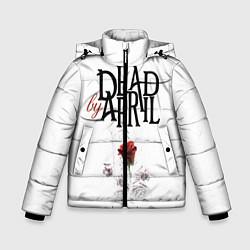 Куртка зимняя для мальчика Dead by April цвета 3D-черный — фото 1