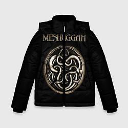 Куртка зимняя для мальчика Meshuggah цвета 3D-черный — фото 1