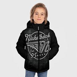Куртка зимняя для мальчика Nickelback Est. 1995 цвета 3D-черный — фото 2
