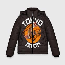 Куртка зимняя для мальчика Tokyo, Japan цвета 3D-черный — фото 1