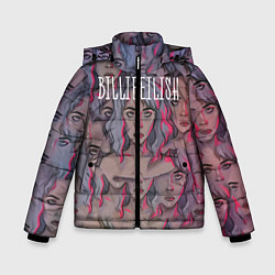 Куртка зимняя для мальчика Billie Eilish цвета 3D-черный — фото 1