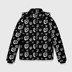 Куртка зимняя для мальчика Twitch: Black Pattern - фото 1