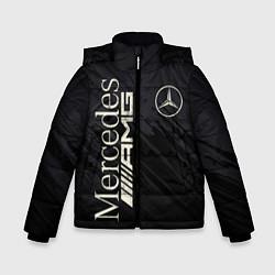 Куртка зимняя для мальчика Mercedes AMG: Black Edition цвета 3D-черный — фото 1