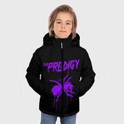 Куртка зимняя для мальчика The Prodigy: Violet Ant цвета 3D-черный — фото 2
