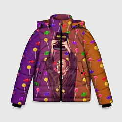 Куртка зимняя для мальчика Gone Fludd art 4 цвета 3D-черный — фото 1