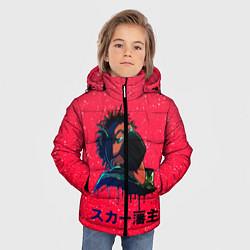 Куртка зимняя для мальчика SCARLXRD Rap - фото 2