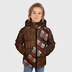 Куртка зимняя для мальчика Chewbacca Costume цвета 3D-черный — фото 2