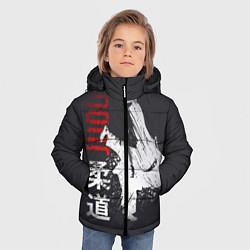 Куртка зимняя для мальчика Judo Warrior цвета 3D-черный — фото 2