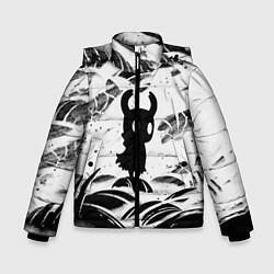 Куртка зимняя для мальчика Hollow Knight цвета 3D-черный — фото 1