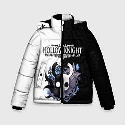 Куртка зимняя для мальчика Hollow Knight Black & White цвета 3D-черный — фото 1