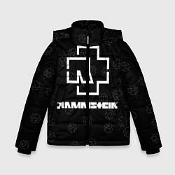 Куртка зимняя для мальчика Rammstein 1 цвета 3D-черный — фото 1