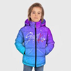 Куртка зимняя для мальчика STRAY KIDS АВТОГРАФЫ цвета 3D-черный — фото 2