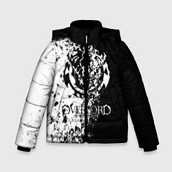 Куртка зимняя для мальчика Overlord цвета 3D-черный — фото 1