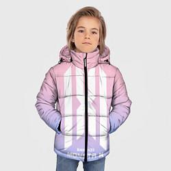Детская зимняя куртка для мальчика с принтом Monsta X, цвет: 3D-черный, артикул: 10187558906063 — фото 2