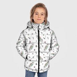 Куртка зимняя для мальчика Central Perk цвета 3D-черный — фото 2
