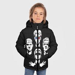 Куртка зимняя для мальчика Doctor Who цвета 3D-черный — фото 2