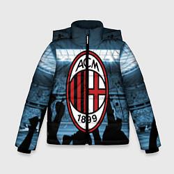 Куртка зимняя для мальчика Milan цвета 3D-черный — фото 1