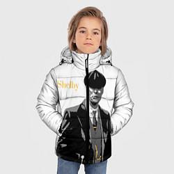Куртка зимняя для мальчика Томас Шелби цвета 3D-черный — фото 2